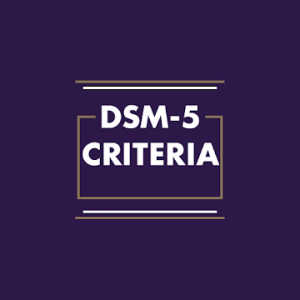 DMS-5 Criteria Therapy Apps