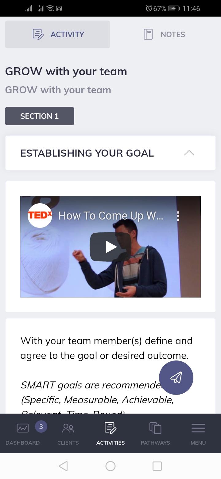 Quenza Business Video Coaching App