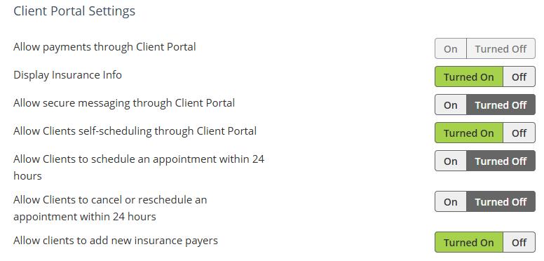 TheraNext Client Portal