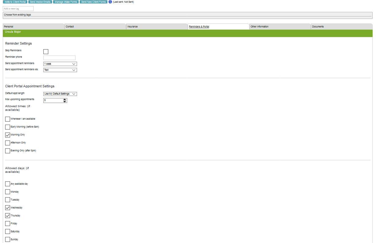 MCP Client Portal Controls