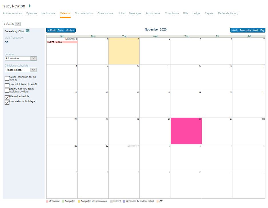 Therapyboss Review Calendar Management