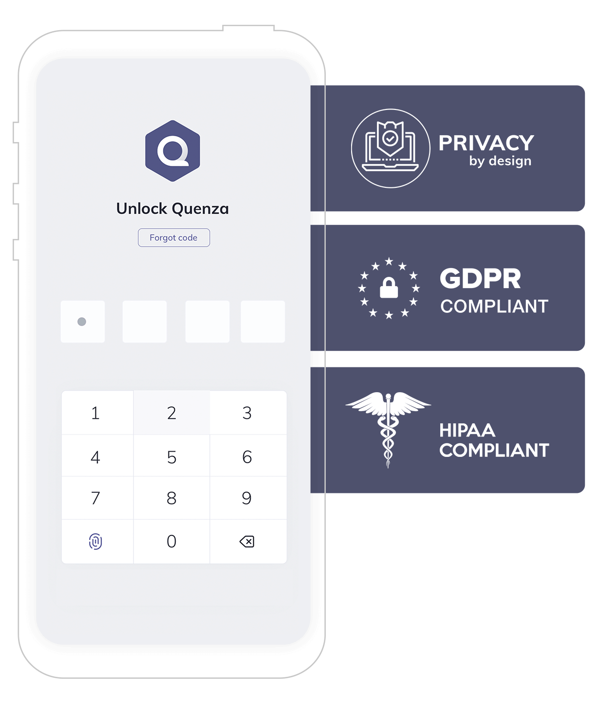 Quenza HIPAA Compliant Therapy Notes Software Example