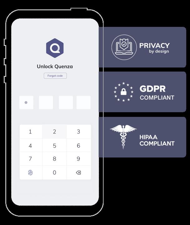 Quenza HIPAA Counseling Software
