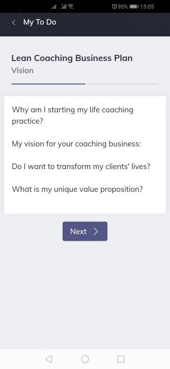 how to start an online life coaching business Quenza