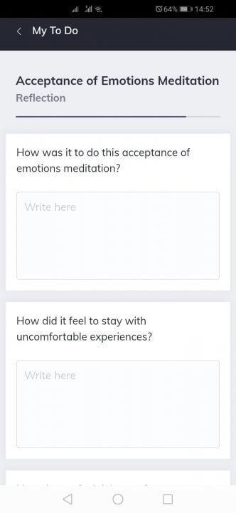 Quenza Remote Therapy App