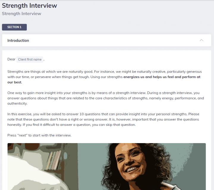 Strength Interview Team Coaching Quenza