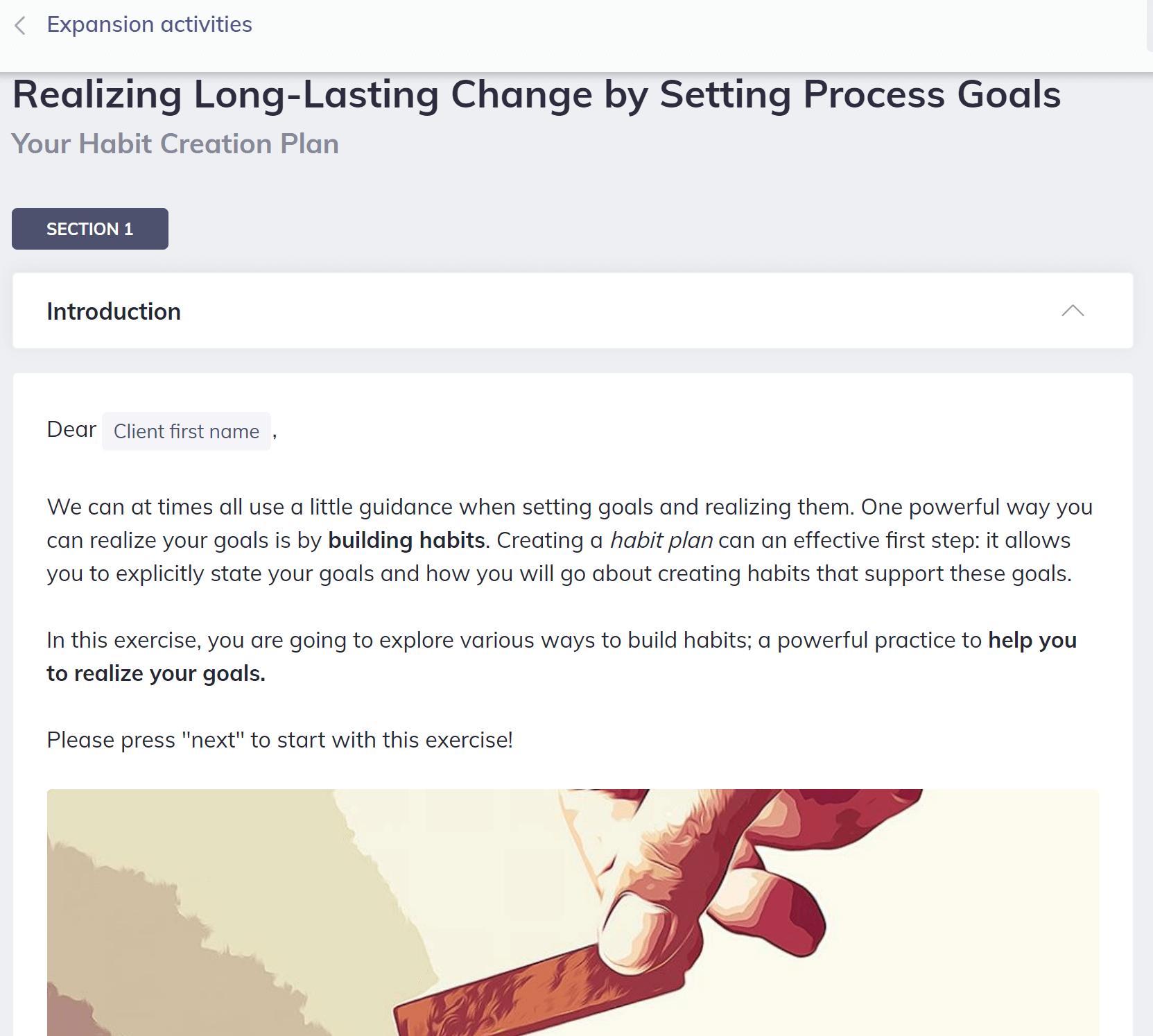 Realizing Long-Lasting Change Quenza High Performance Coaching Program